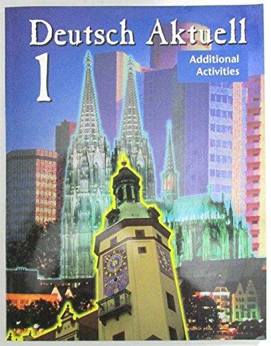 9780821915806: Deutsch Aktuell 1 Additional Activities