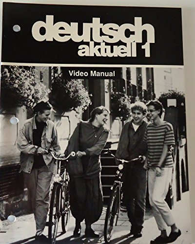 Deutsch Aktuell 1: Video Manual (0821916130) by Kraft, Wolfgang