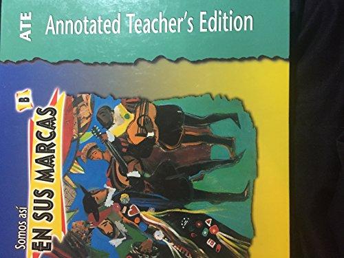 Somos Asi En Sus Marcas B Teacher's Edition (0821919598) by Funston; Vargas Bonilla; Sherman