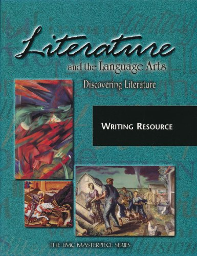 9780821920251: Literature and the Language Arts, Discovering Literature Writing Resources (The EMC Masterpiece Series)
