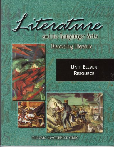 9780821920343: Literature and the Language Arts (The EMC Masterpiece Series, Unit Eleven Resource)