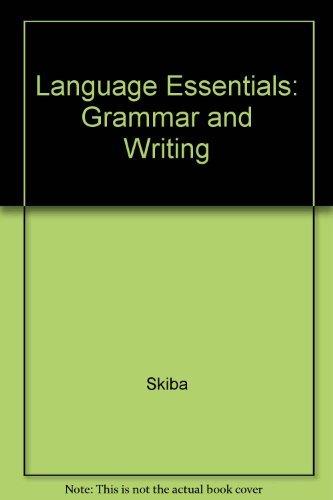 9780821925188: Language Essentials: Grammar and Writing
