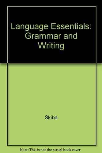 9780821925300: Language Essentials: Grammar and Writing