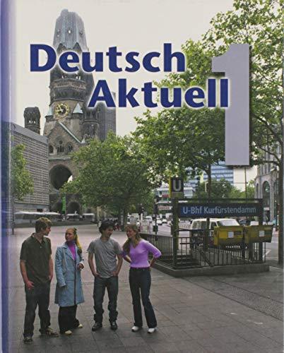 9780821925379: Deutsch Aktuell: Level 1 (German Edition)