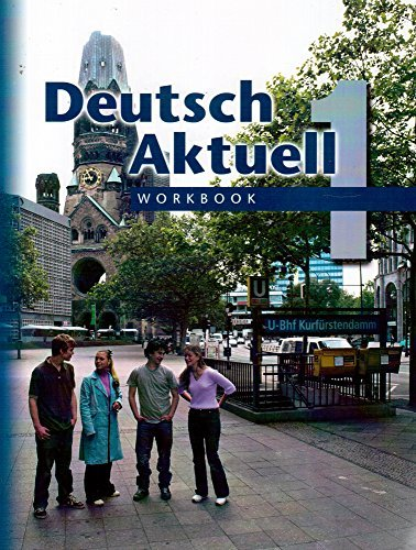 9780821925393: Deutsch Aktuell, Level 1: Workbook, 5th Edition (German Edition)