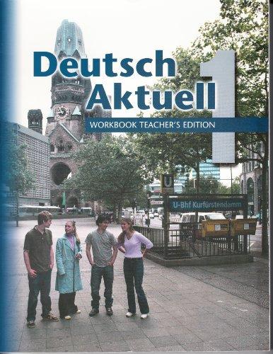 9780821925409: Deutsch Aktuell One: Teacher's Edition Workbook