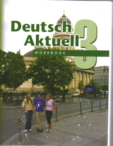 9780821926086: Workbook Deutsch Aktuell: Level 3 (German Edition)