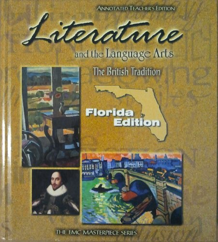 9780821926383: Literature and the Language Arts: The British Tradition.....Florida edition Annotated Teacher's Edition.