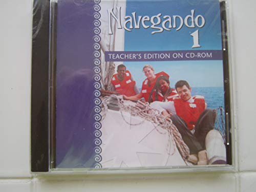 9780821928004: Navegando 1 Teacher's Edition on CD-ROM