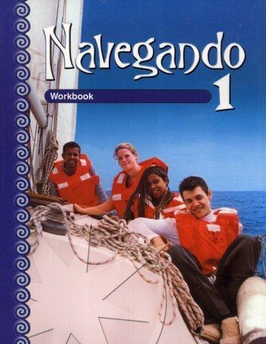 9780821928011: Navegando: Workbook 1 (English and Spanish Edition)