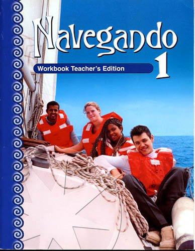9780821928028: Navegando 1: Workbook Teacher's Edition