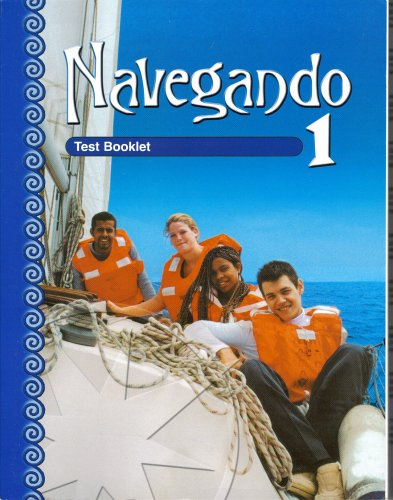 9780821928110: Navegando 1: Test Booklet With Answer Key