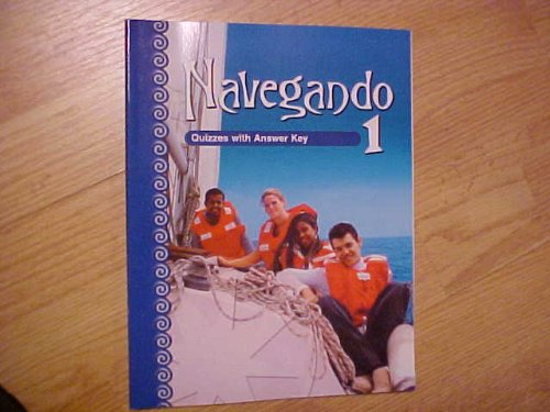 9780821928127: Navegando 1 Quizzes with Answer Key