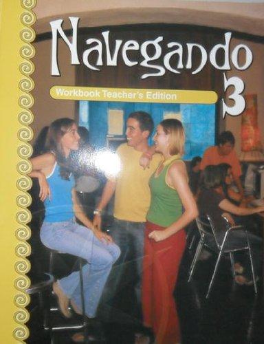 9780821928684: Navegando 3 Workbook Teacher's Edition