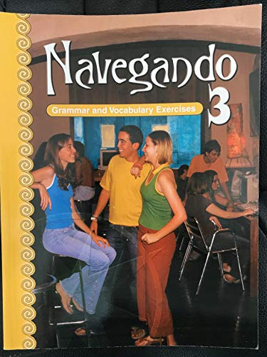 Navegando 3: Grammar and Vocabulary Exercises: Hoff and Hoff