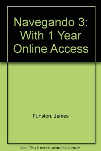 9780821929889: Navegando 3: With 1 Year Online Access (Spanish Edition)