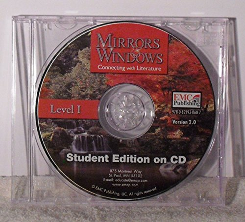 9780821930687: Mirrors & Windows Connecting with Literature Level 1 Student Edition on CD Version 2.0