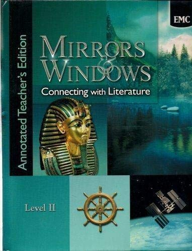 9780821930793: Mirrors & Windows: Connecting with Literature Level II - Annotated Teacher's Edition