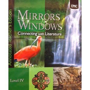9780821931356: Mirrors & Windows: Connecting with Literature Level IV - Annotated Teacher's Edition