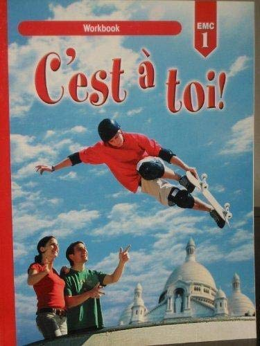 9780821932605: C'est a Toi Workbook: Level 1 (French Edition)