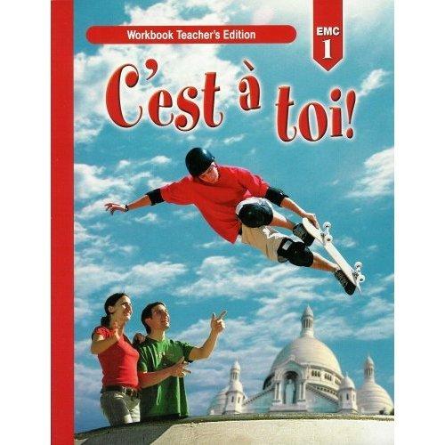 9780821932612: C'est a Toi! Workbook Teacher's Edition Level 1 Second Edition