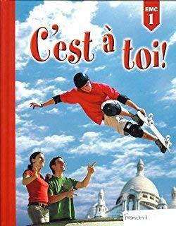 9780821932643: C'est a Toi: Level 1 Grammar And Vocabulary (French Edition)
