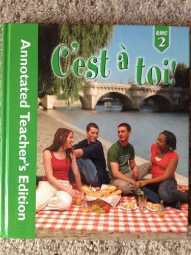 9780821932865: C'est a' toi! (annotaded Teacher's Edition)