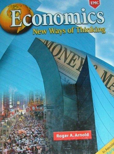 9780821934012: Economics New Ways of Thinking