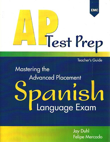 9780821934968: Mastering the Advanced Placement Spanish Language Exam (ASP Test Prep)