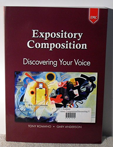 9780821934975: Expository Composition: Discovering Your Voice