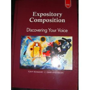 9780821936177: Expository Composition: Discovering Your Voice