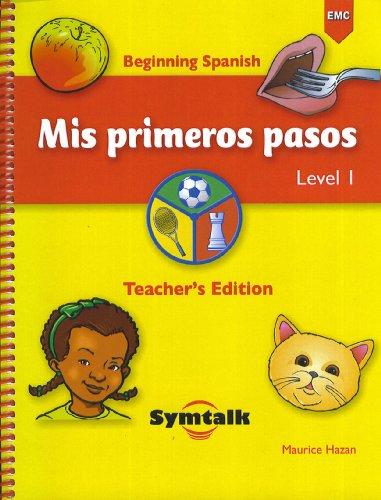 9780821936580: Mis Primeros Pasos Level 1 Teacher's Edition