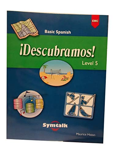 9780821936696: Descubramos ! Level 5 Basic Spanish - Symtalk