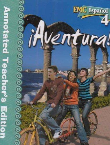9780821939420: Aventura! EMC Espanol 4 Annotated Teacher's Edition