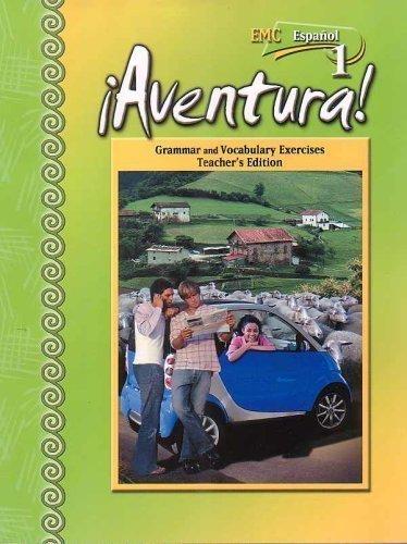 9780821939765: Aventura-Grammar and Vocabulary Exercises Teacher's Edition (Espanol 1)