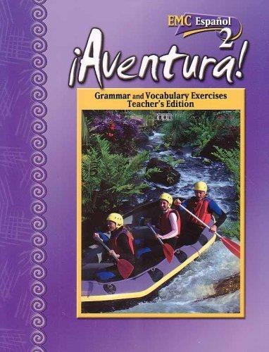9780821939987: Aventura-Grammar and Vocabulary Exercises Teacher's Edition (Espanol 2)
