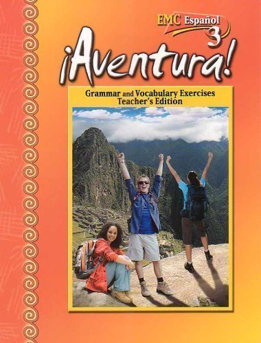 9780821940181: Aventura-Grammar and Vocabulary Exercises Teacher's Edition (Espanol 3)