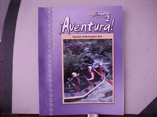9780821941089: EMC Espanol 2 Spanish Aventura Quizzes with Answer Key ISBN 9780821941089