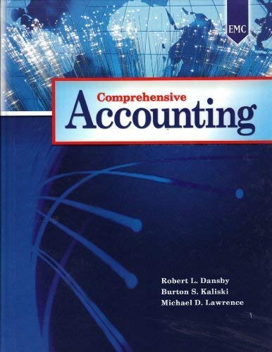 9780821952030: Comprehensive Accounting