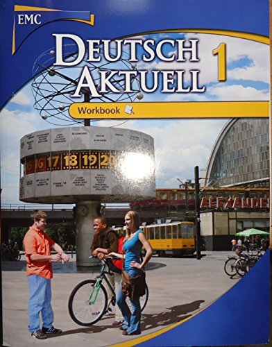 9780821954508: Deutsch Aktuell Workbook 1 (1)