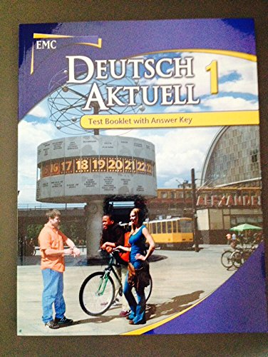 9780821954614: Deutsch Aktuell 1 Test Booklet with Answer Key