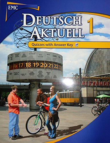 9780821954621: Duetsch Aktuell 1 Quizzes with Answer Key (Deutsch Aktuell)