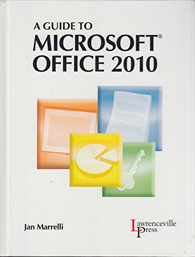 9780821958339: A Guide to MICROSOFT OFFICE 2010