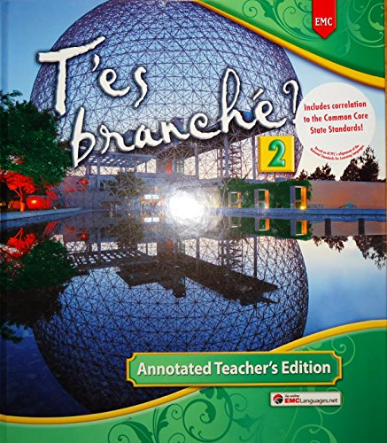 T'es branché? 2 Annotated Teacher's Edition Hardcover ? 2014