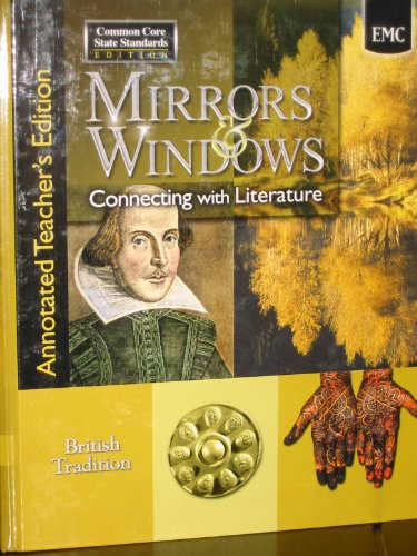9780821960424: Mirrors & Windows Connecting with Literature - British Tradition - Annotated Teacher's Edition