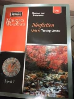 9780821961025: Mirrors and Windows: Meeting the Standards Nonfiction Unit 4: Testing Limits
