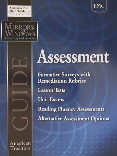 9780821961544: Mirrors & Windows, American Tradition Guide, Assessment, Common Core