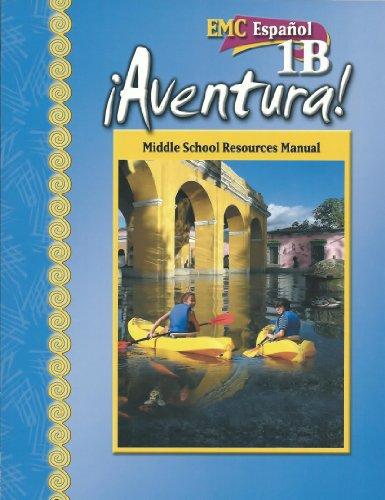 EMC Espanol 1B Aventura! Middle School Resources Manual. (Aventura): Theisen, Toni