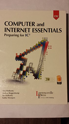 9780821963173: Computer and Internet Essentials: Preparing for IC3