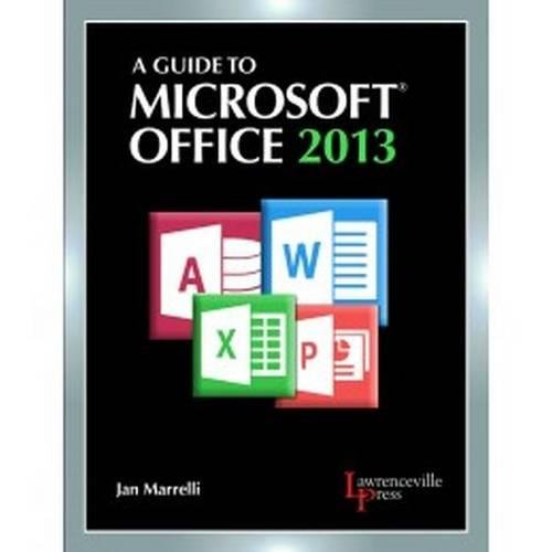 9780821965610: A Guide to Microsoft Office 2013
